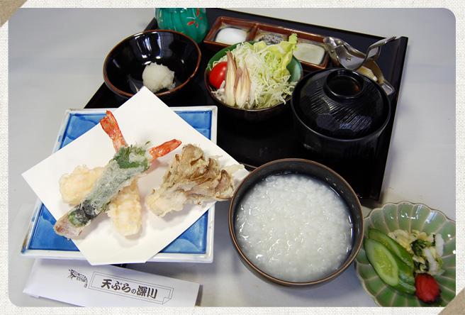 A. 天ぷら七品コース写真